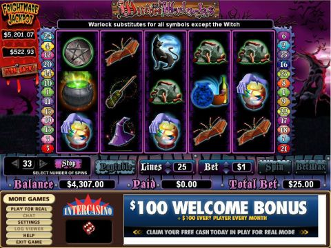Witches and Warlocks Slot Slot Reels