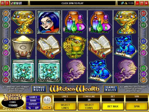 Witches Wealth Slot Slot Reels