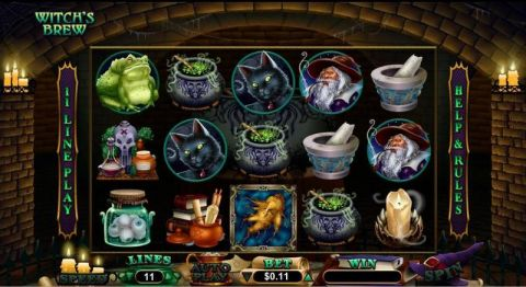 Witch's Brew Slot Slot Reels